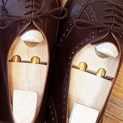 Maple wood shoe trees