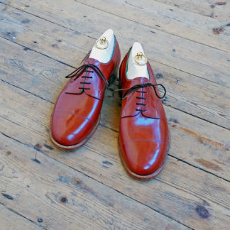 custom derby shoe