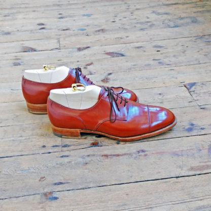 bespoke derby shoes