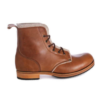 Horween leather boot