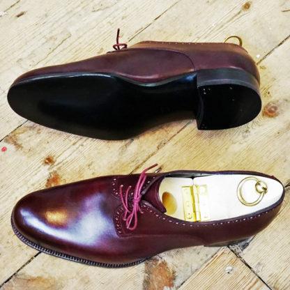 men's derby shoe