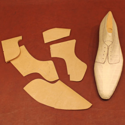 Footwear pattern making derby