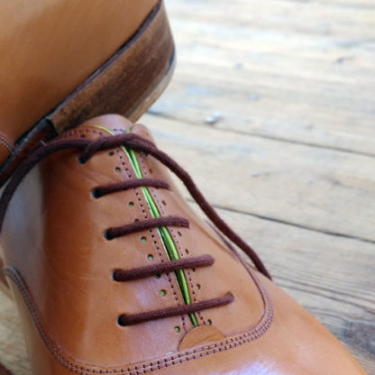 oxford shoe punching detail