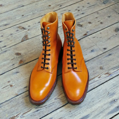 bespoke Derby boot