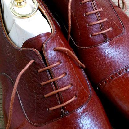 Oxford shoe detail