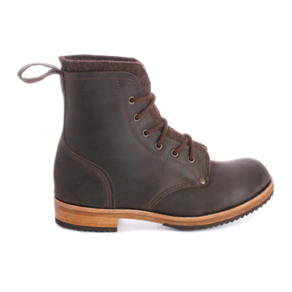 Leather work boot