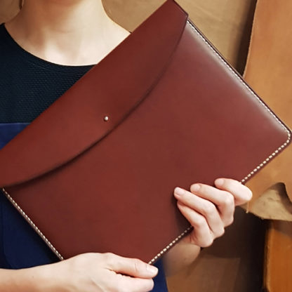 Make a leather folio in London