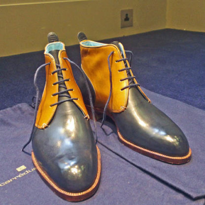Derby bespoke boots NS