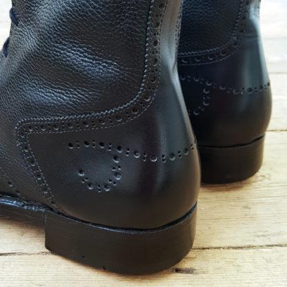 Heel details on boots