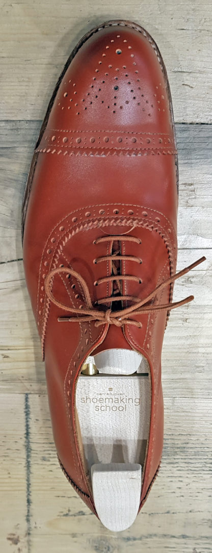 Oxford - full brogue - bird's eye