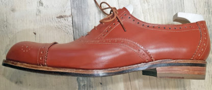 Oxford - full brogue - profile