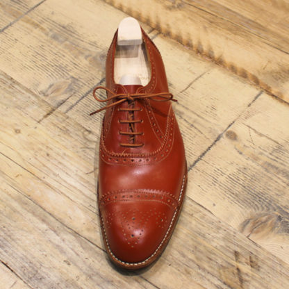 full brogue oxford shoe