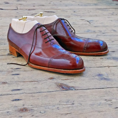 Brown oxfords for men