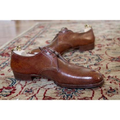 pigskin derby shoe