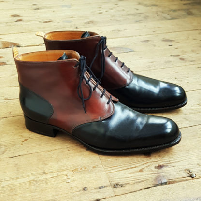 Two tone men's boot