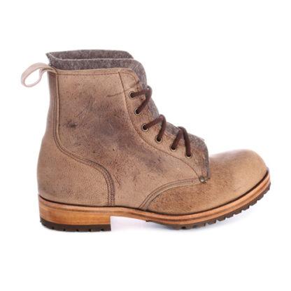 Kudu leather boots