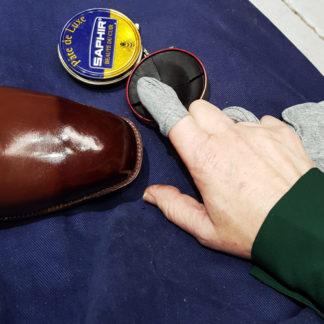 shoe polish class in London