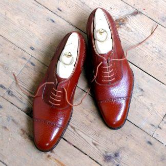 bespoke Oxford shoe