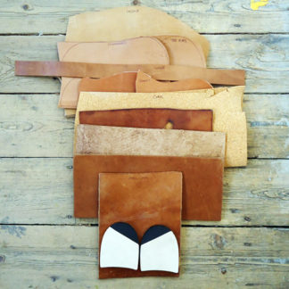 shoe making leather kit