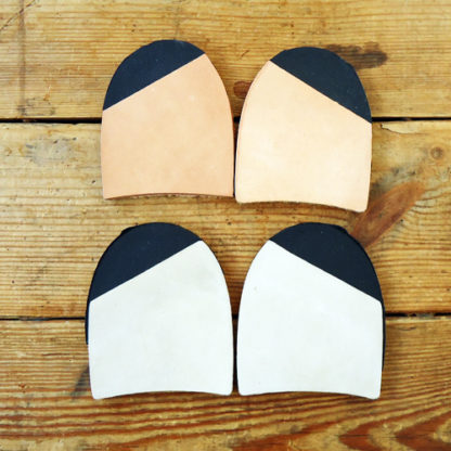 Heel top pieces