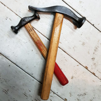 two old hammers