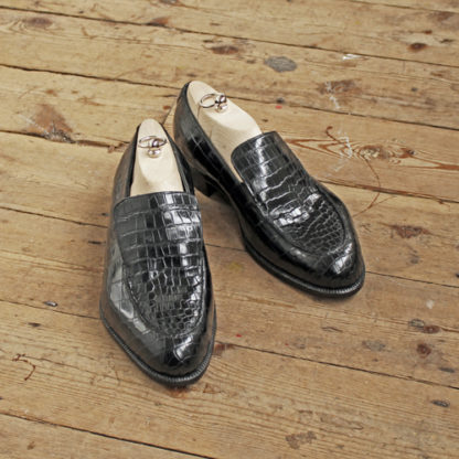 crocodile loafers
