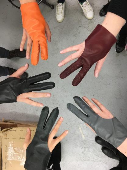 Carreducker glove making workshop
