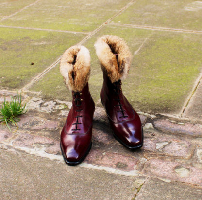Ladies purple boot