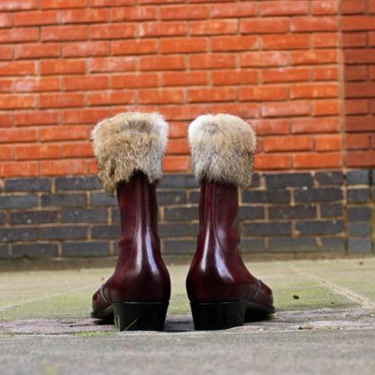 low heel ladies boots