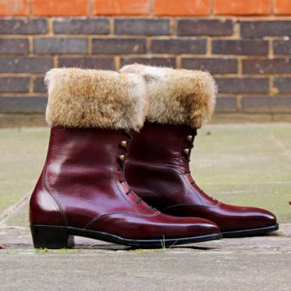 Purple ladies boots