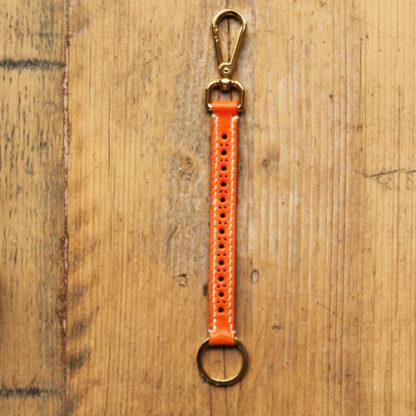 Tangerine key fob