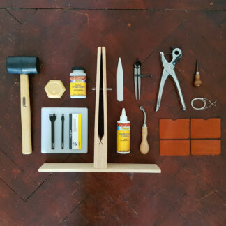 Leathercraft kit and project