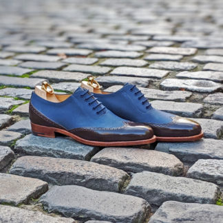 two tone oxford shoe