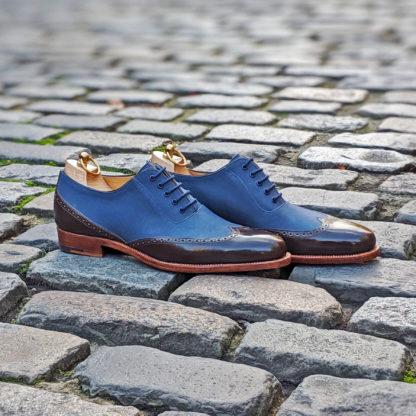 two tone oxford shoe