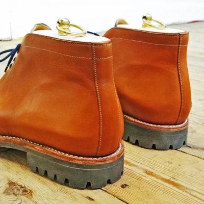 desert boot heel detail showing commando sole