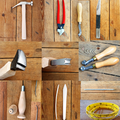Carreducker shoe making tool kit