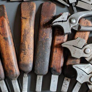 vintage shoemaking tools