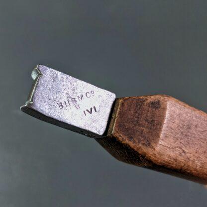 "3/8"" edge iron makers stamp"