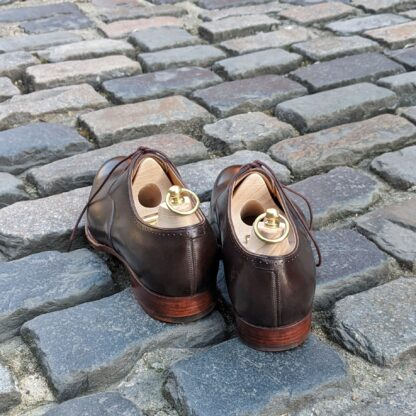 bespoke oxford shoes with dog ear