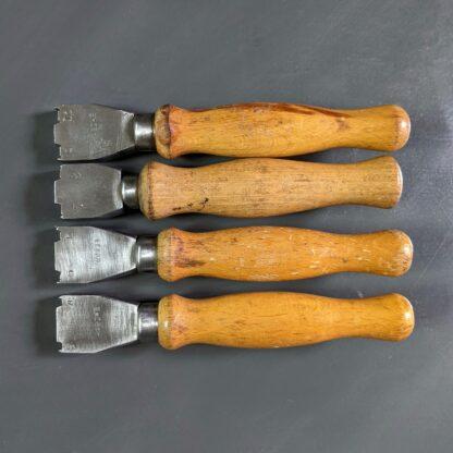 double edge iron set of 4