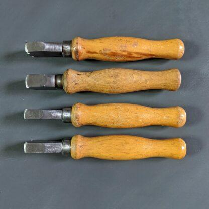 double edge iron set of 4 for shoemaking