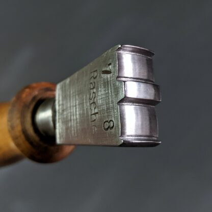 vintage double edge iron