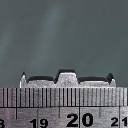 vintage double edge iron measurements