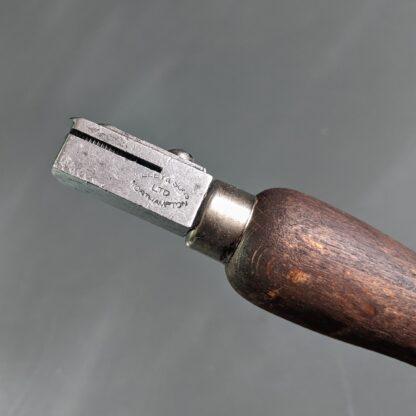 vintage seat wheel maker's stamp