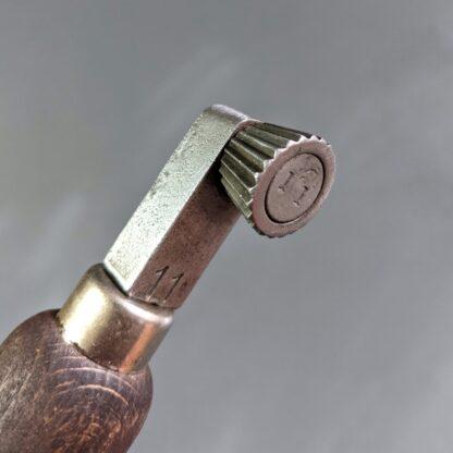 vintage fudge wheel 11spi head detail