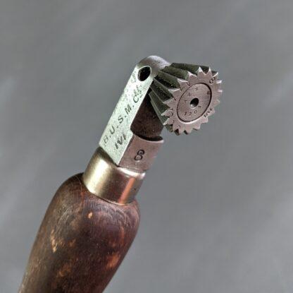vintage fudge wheel for marking stitches