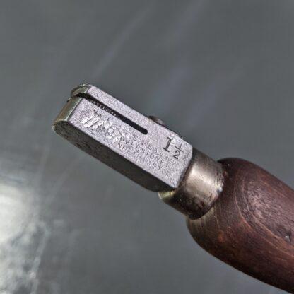 vintage medium seat wheel makers stamp