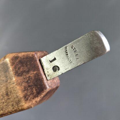 vintage 5/16 edge iron makers stamp