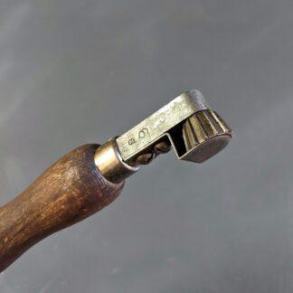 6 spi fudge wheel head detail