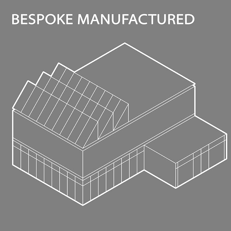 Bespoke manufactured